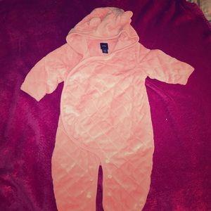 Pink Snow Suit
